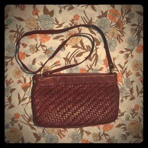 Tatiana Pelletterie Vintage wine burgundy purse